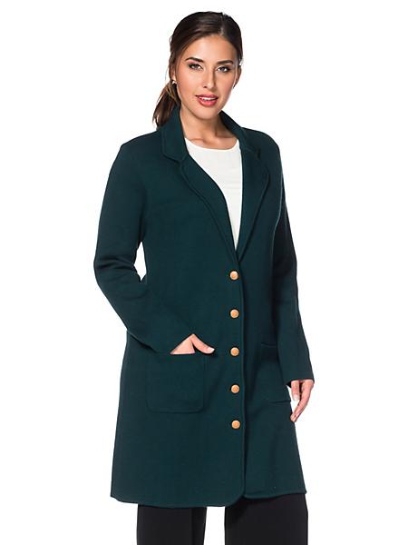 Sheego Class - Manteau en tricot sheego Class