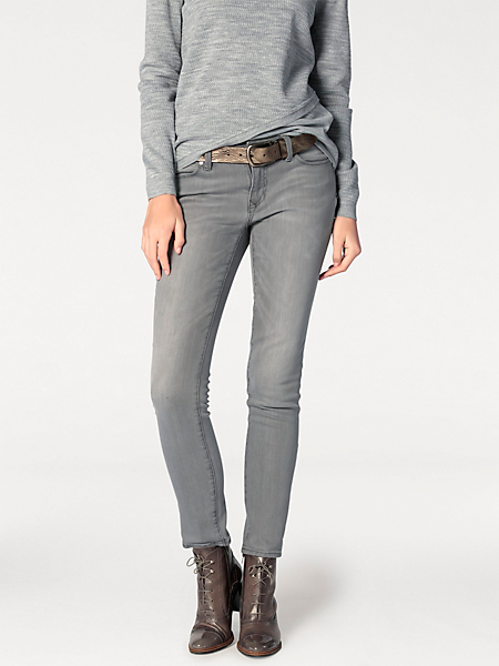 Rick Cardona - Pantalon jean coupe droite ajustée, style cinq poches