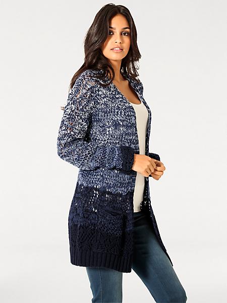 Linea Tesini - Gilet long en tricot