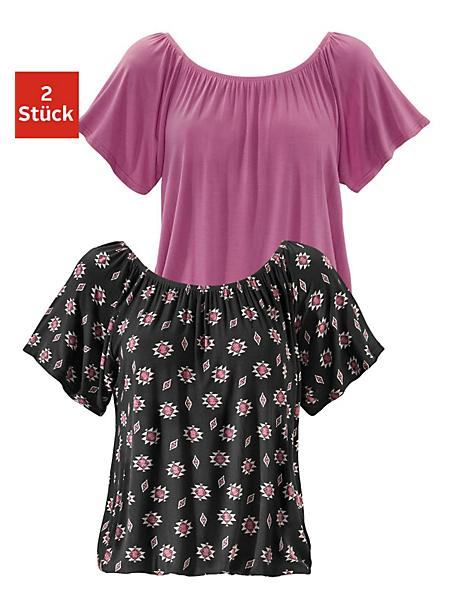 Buffalo - T-shirts col Carmen Buffalo (2 pièces)