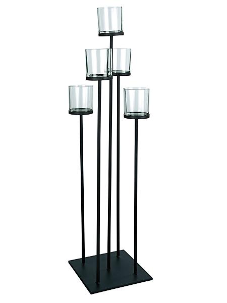 helline home - Chandelier sur pied design à bougies LED raffinées