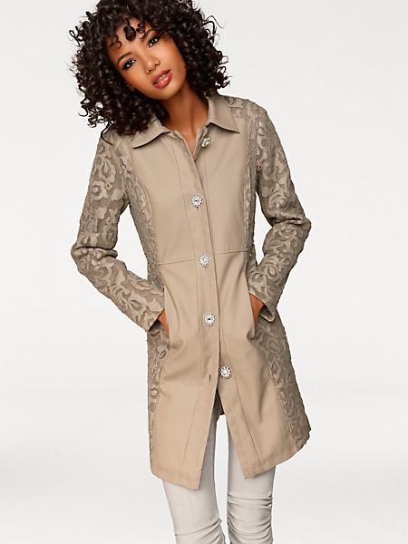 Linea Tesini - Manteau en dentelle