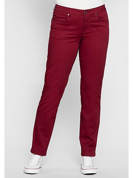 Sheego Casual - sheego Casual : Pantalon stretch basique 'étroit'