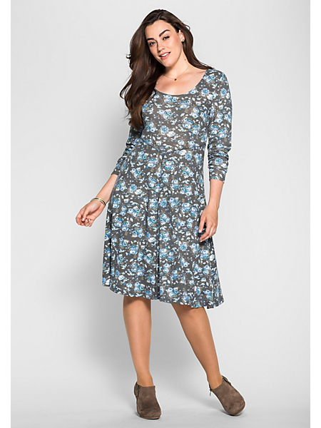 Sheego Style - Robe sheego Style à imprimé intégral