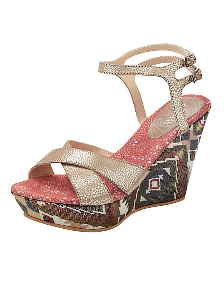 Xyxyx - Sandalettes compensées