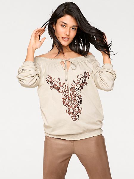 B.C. Best Connections - T-shirt à encolure Carmen