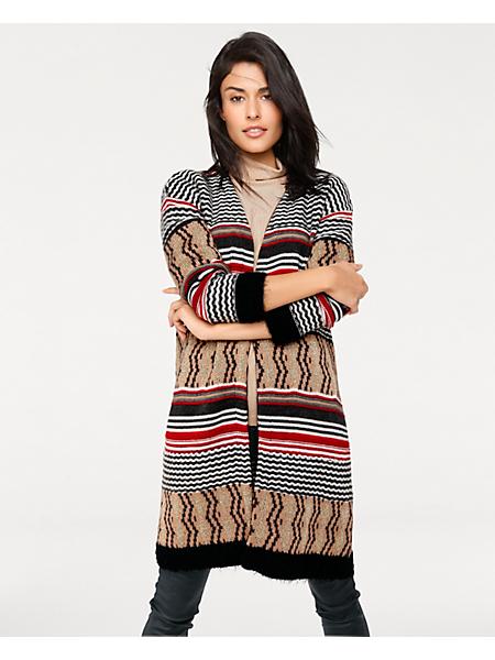 B.C. Best Connections - Gilet long en tricot