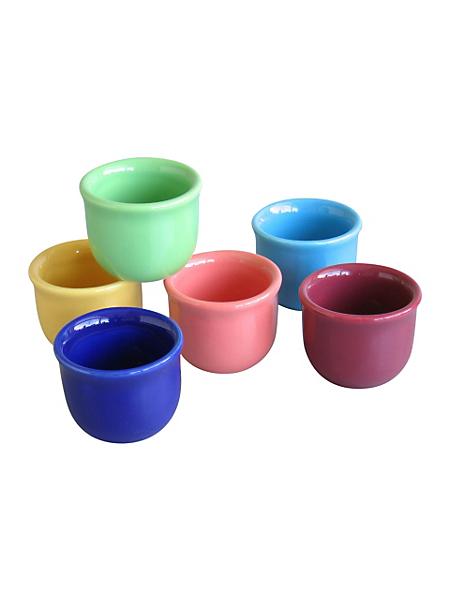CREATABLE - Lot: service en grès 'top - multicolore'