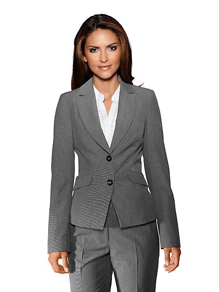 Patrizia Dini - Veste de tailleur femme, style basique, 2 boutons