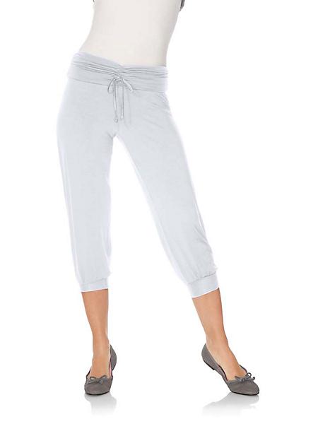 helline - Pantacourt femme souple et confortable, style casual