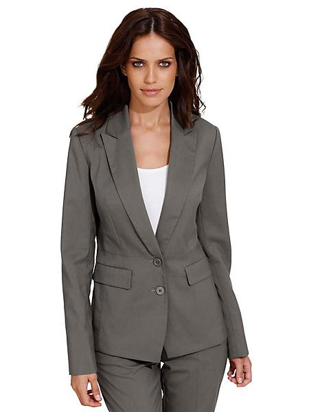 B.C. Best Connections - Tailleur femme, veste et pantalon droit coupe classique