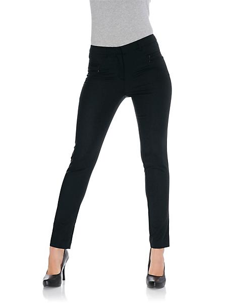 Ashley Brooke - Pantalon slim pour femme, matière stretch