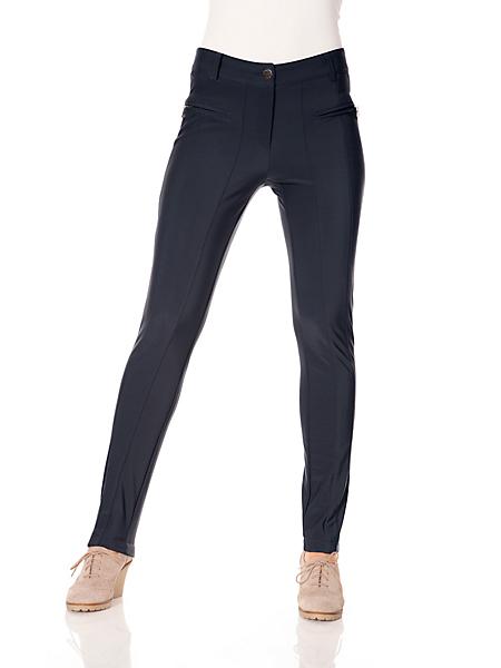 Ashley Brooke - Pantalon chaud pour femme, à coutures et zips