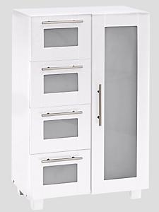 helline home - Meuble de salle de bain à tiroirs et porte