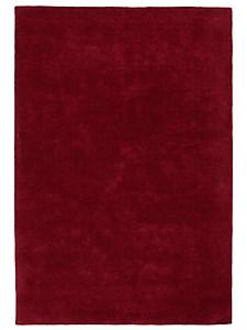 helline home - Tapis uni en pure laine vierge, tissé main