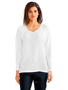 Rick Cardona - T-shirt manches longues uni pour femme, style élégant