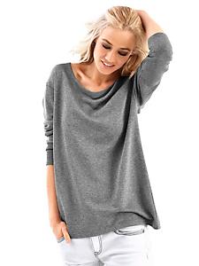 Rick Cardona - Sweat-shirt élégant pour femme avec dos en dentelle
