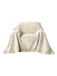 helline home - Jeté de fauteuil avec un beau motif floral baroque