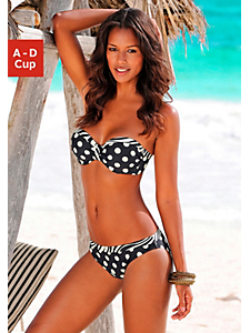 Lascana - Bikini à armatures bandeau, LASCANA
