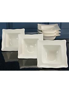 CREATABLE - Coupelles à céréales porcelaine, »EVA« (6 pièces)