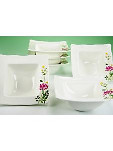 CREATABLE - Coupelles à céréales porcelaine, »Eva fleurs des champs« (6 pièces)