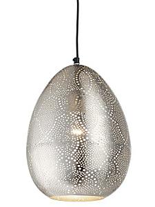 helline home - Luminaire suspension originale en métal ajouré oriental