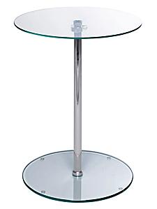 helline - Plateau de table, réglable, en verre très moderne