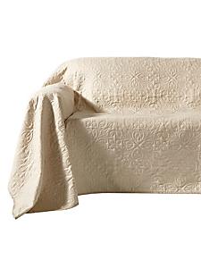 helline home - Jeté de canapé en tissu surpiqué, modèle réversible