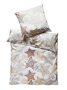 helline home - Linge de lit en coton à imprimé intégral, motif étoile
