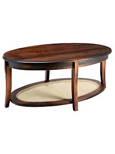 helline home - Table basse ronde en bois de tilleul