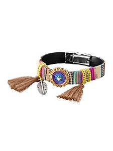 helline - Bracelet tendance coloré à breloques, fermoir aimanté