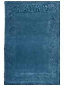 helline home - Tapis à motif structuré, 100% laine vierge