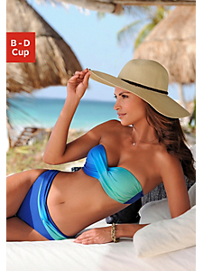 Lascana - Bikini bandeau à armatures, LASCANA