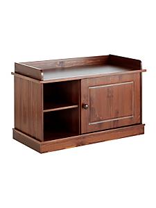 helline home - Meuble d'entrée en bois massif à étagère et tiroir