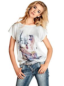 B.C. Best Connections - T-shirt tendance pour femme à imprimé photo