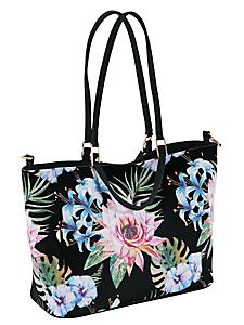 helline - Sac cabas avec imprimé floral asiatique à bandoulière