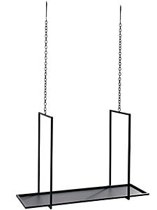 helline home - Etagère en métal à suspendre, design moderne
