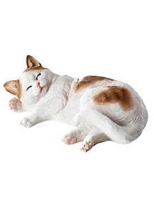 helline home - Silhouette décorative en forme de chat, matière résine