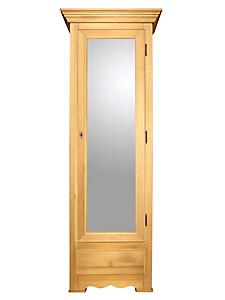 helline home - Armoire à chaussures avec porte à miroir