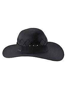 Seeberger - Chapeau estival en paille pour femme, forme capeline