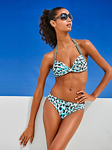 Class International Fx - Bikini souple avec armatures à imprimé tendance