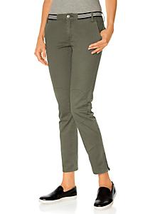 Rick Cardona - Pantalon cargo femme, style décontracté, taille basse