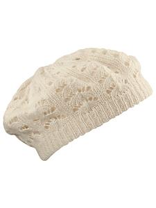 Loevenich - Béret en tricot ajouré pour femme