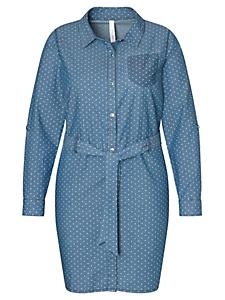SHEEGO DENIM - sheego denim : Robe en jean mini