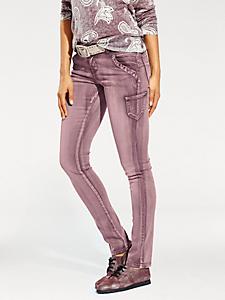 B.C. Best Connections - Pantalon skinny coloré effet délavé