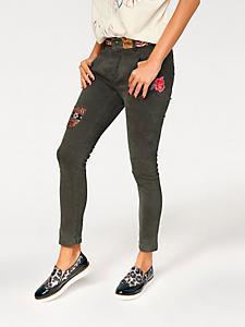 Desigual - Pantalon cargo Desigual à empiècements brodés