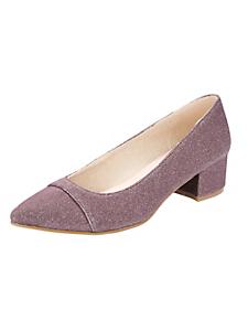 helline - Chaussures à petits talons et bouts pointus