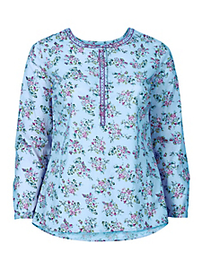 Sheego Casual - Tunique avec imprimé floral intégral Sheego Casual