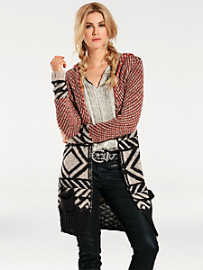 B.C. Best Connections - Gilet long en tricot