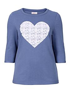 Sheego Casual - SHEEGO CASUAL sweatshirt met structuurprint
